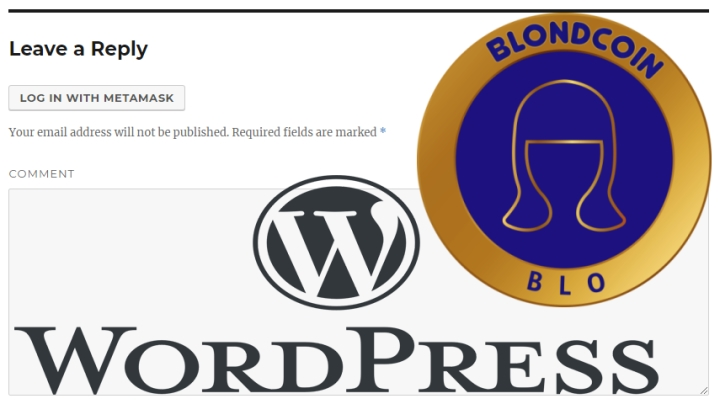 Blondcoin Connect - Wordpress Plugin